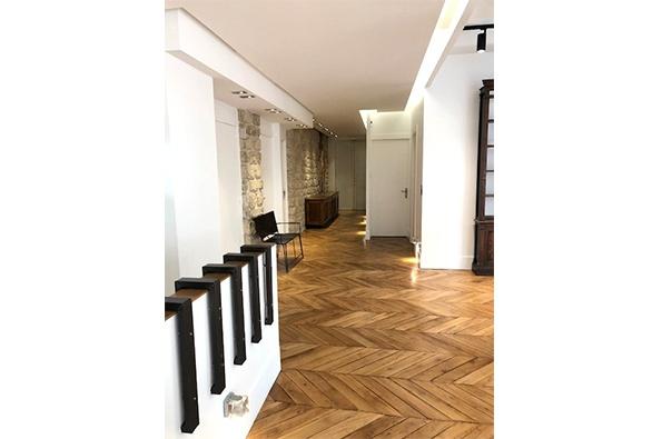 Showroomby - Un espace évènementiel unique en plein coeur de Paris : Couloir vu du bureau