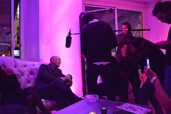 Showroomby - Un espace évènementiel unique en plein coeur de Paris : Interview John Malkovitch