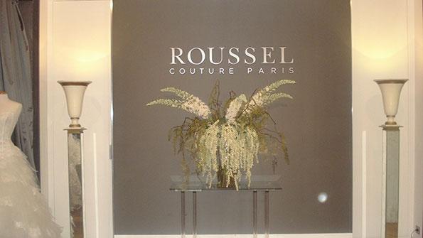 Showroomby - Un espace évènementiel unique en plein coeur de Paris : Tournage Roussel Couture Paris