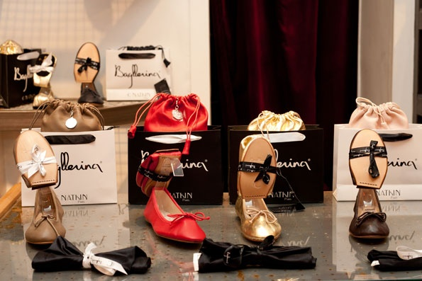 Showroomby - Un espace évènementiel unique en plein coeur de Paris : Vente Privée Chaussures Bagllerina
