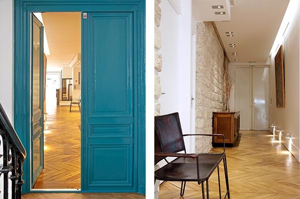 Showroomby - Un espace évènementiel unique en plein coeur de Paris : Couloir permettant l'accès aux bureaux