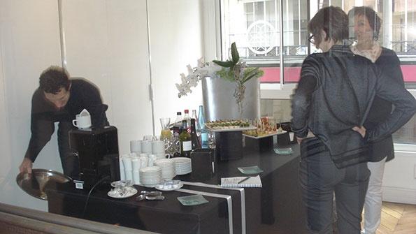 Showroomby - Un espace évènementiel unique en plein coeur de Paris : Journée Presse Produit - Buffet