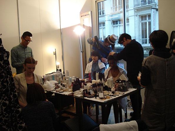 Showroomby - Un espace évènementiel unique en plein coeur de Paris : Mode / Défilé - Préparation mannequins