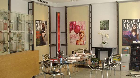 Showroomby - Un espace évènementiel unique en plein coeur de Paris : Tournage Agence mode